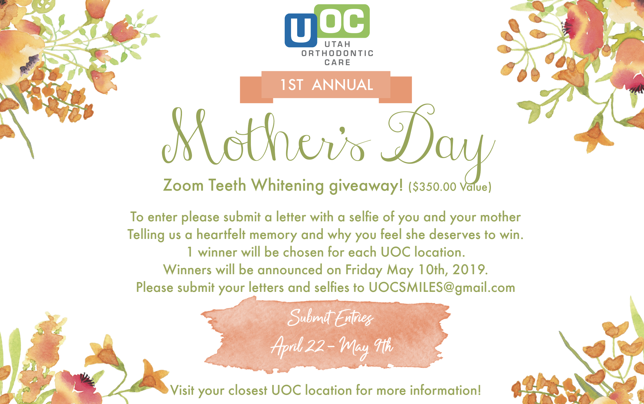 Free Zoom Teeth Whitening